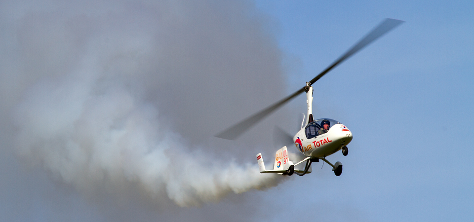NEWS: Gyro Air Displays granted CAA Exemption for reduced Crowdline Separation